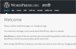 wordpress-marathi